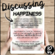 Happiness- Middle/High School Conversation Questions
