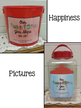 Happiness DOES Come in a Jar...The Happiness Jar!