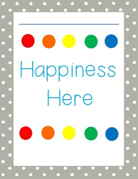 Happiness Here Poster
