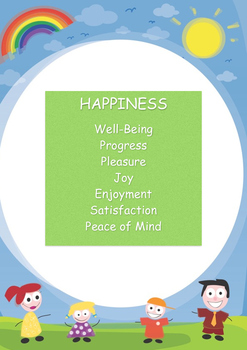 Happiness - Meaning of Happiness Poster