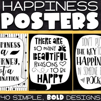 Happiness Posters