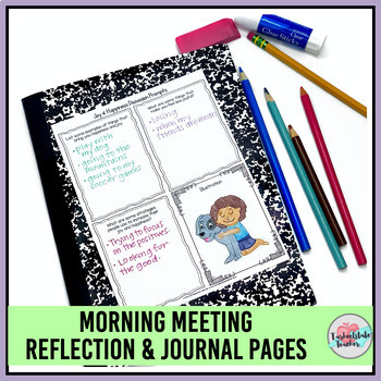 Morning Meeting Activities for Happiness Joy - Theme in Literature