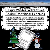 Happiness Worksheet for Social Emotional Learning