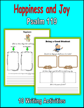 Happiness and Joy (Psalm 119)