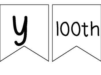 Happy 100th Day Banner!
