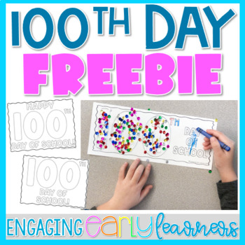 Happy 100th Day Coloring Pages *FREEBIE*
