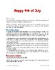 Happy 4th of July Theme Day Plan