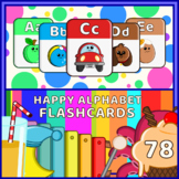 Montessori Happy Alphabet Flash Cards 78 nos.