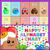 Happy Alphabet Poster Chart