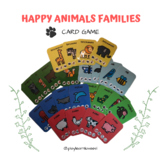 Happy Animals Families cards