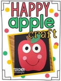 Happy Apple Craft