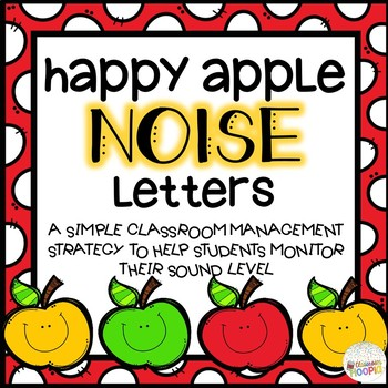 Happy Apple NOISE Letters
