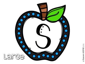 Happy Apple NOISE Letters