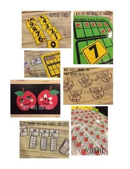 Happy Apples Math Activities