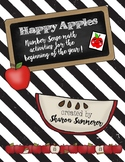 Happy Apples Math Activities