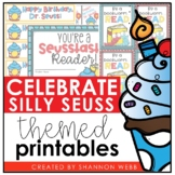Celebrate Dr. Seuss (Brag & Treat tags, Certificate, Bookm