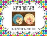Happy Bird-Day! (Owl Themed Birthday Buttons Freebie!)
