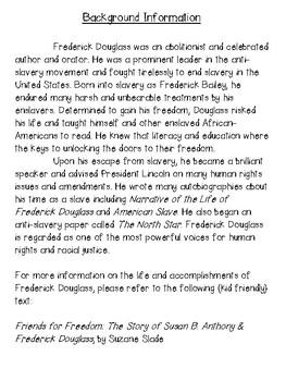 Happy Birhtday Frederick Douglass! (Freebie)