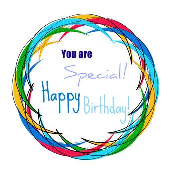 Happy Birthday 1 Clip art