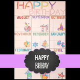 Free Happy Birthday Collaboration Poster