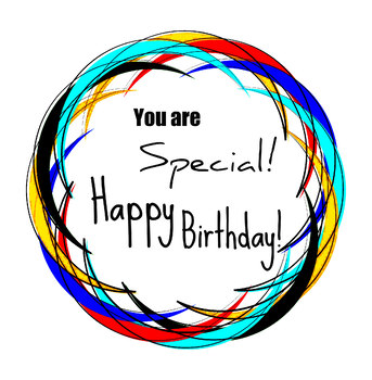 Happy Birthday 4 Clip art