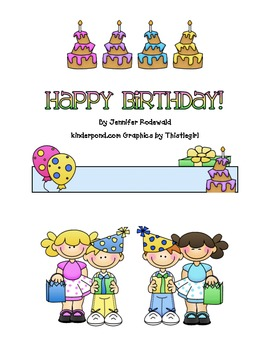 Happy Birthday: A Class Gift Book