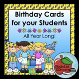 Happy Birthday ~ A Year of Birthday Cards