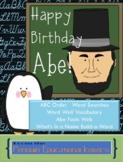 Happy Birthday Abe!