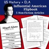 Happy Birthday Abigail Adams Informational Text and Graphic Organizer