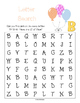 Happy Birthday Activity Pack [Co-Op or Classroom Use]
