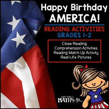 Happy Birthday America! Reading Activities
