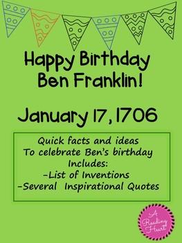 Research Ben Franklin free
