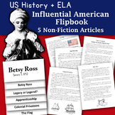 Happy Birthday Betsy Ross Informational Text and Graphic Organizer