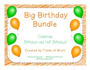 Happy Birthday Big Bundle