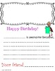 Happy Birthday Book