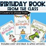 Happy Birthday Book-Class Activity