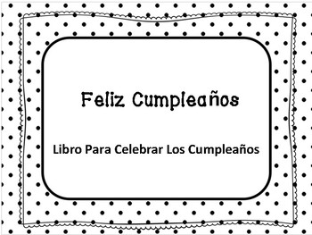 Happy Birthday Book ( Spanish)