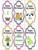 """Happy Birthday"" Bookmarkers for Students"