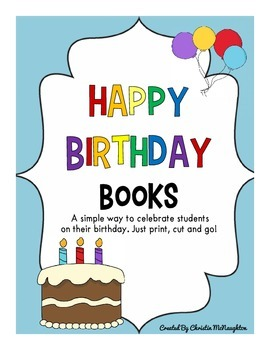 Happy Birthday Books