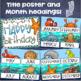 Happy Birthday Bulletin Board Display Posters Ocean Under the Sea Theme Editable
