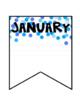 Birthday Chart Bulletin Board Banner Editable