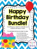 Happy Birthday Bundle - Complete Editable Kit for Celebrat
