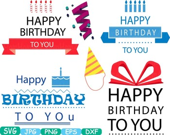 Happy Birthday Candles Numbers clip art party Celebration