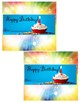Happy Birthday Candy Wrappers