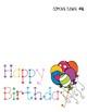 Happy Birthday Card Freebie