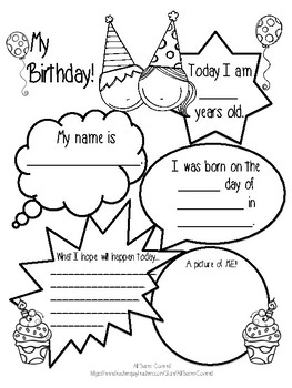happy birthday cards chart worksheet by all bases covered tpt. Black Bedroom Furniture Sets. Home Design Ideas