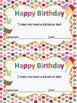 Happy Birthday Cards {English and Spanish}