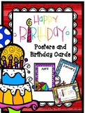 Happy Birthday Cards and Posters