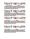 Happy Birthday Celebration Note