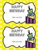 Happy Birthday Certificates FREEBIE